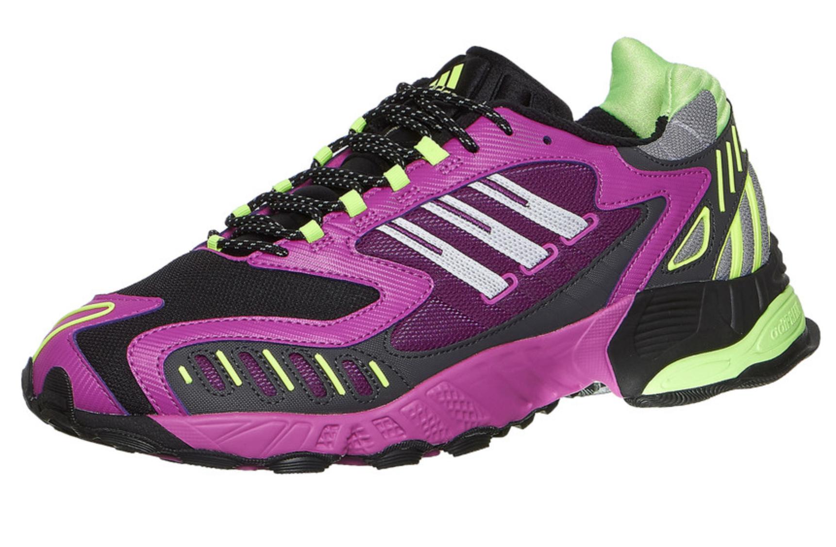 (HHV) adidas Torsion TRDC (Black/White/Vivid Pink) für Herren, Größe 37 bis 47