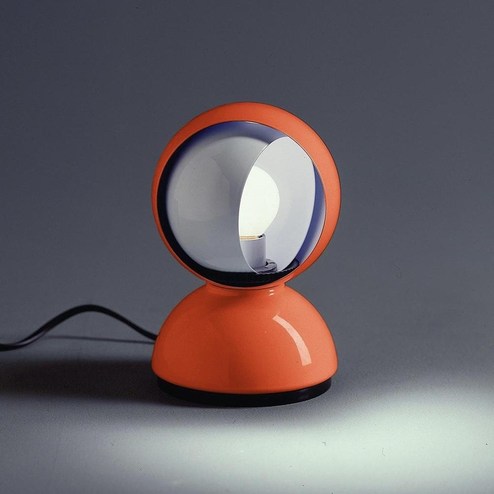 Artemide Eclisse Lampe, Orange