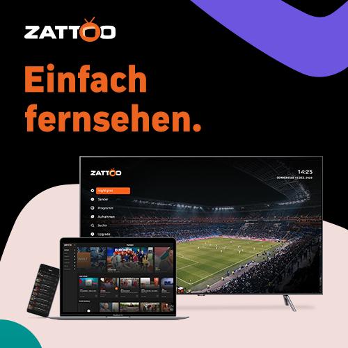 Zattoo Ultimate 2 Monate gegen 50 Lieferando Punkte