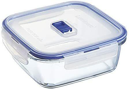3x Luminarc Pure Box Active 1,2L Vorratsdosen aus Glas