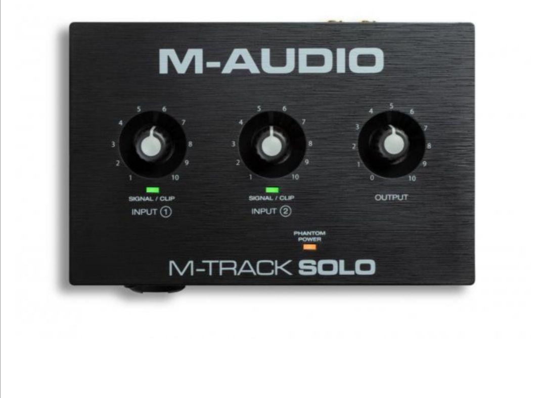 M-Audio M-Track Solo - Gutes Einsteiger Audio Interface