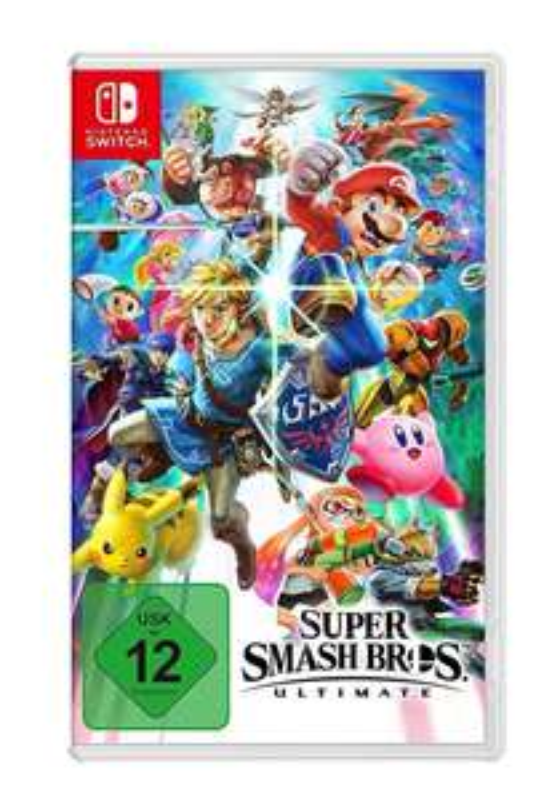 Super Smash Bros. Ultimate für Nintendo Switch - Amazon / Saturn