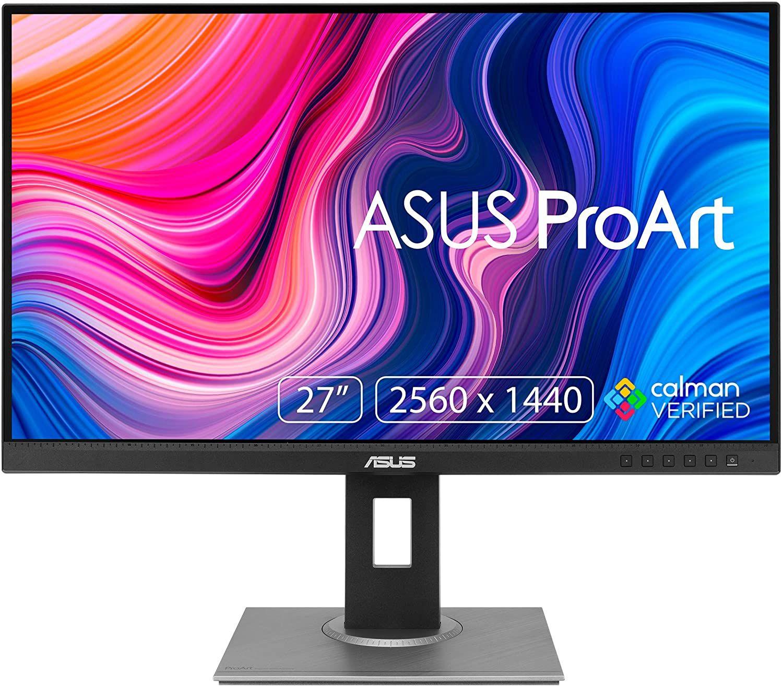 Asus ProArt PA278QV Grafikmonitor, 27 Zoll WQHD 75 Hz IPS