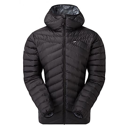 Mountain EquipmentDamen Earthrise Hooded Jacke, black, Gr. XS-XL