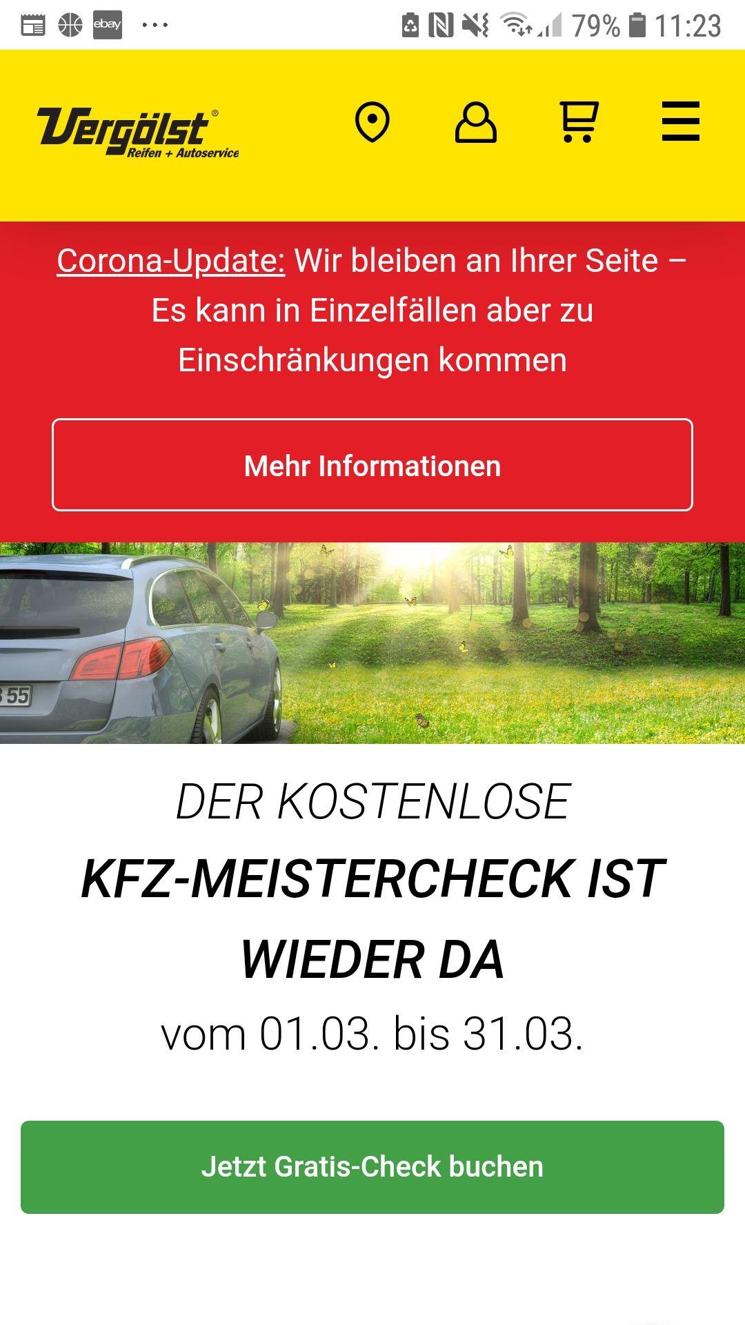 Vergölst kostenlose KFZ Prüftage vom 01.03-31.03