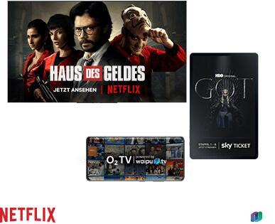 O2 verschenkt Jahresabo für Sky, Netflix oder O2 TV für Neukunden und Bestandskunden bei Vertragsabschluss (24 Monate Laufzeit)