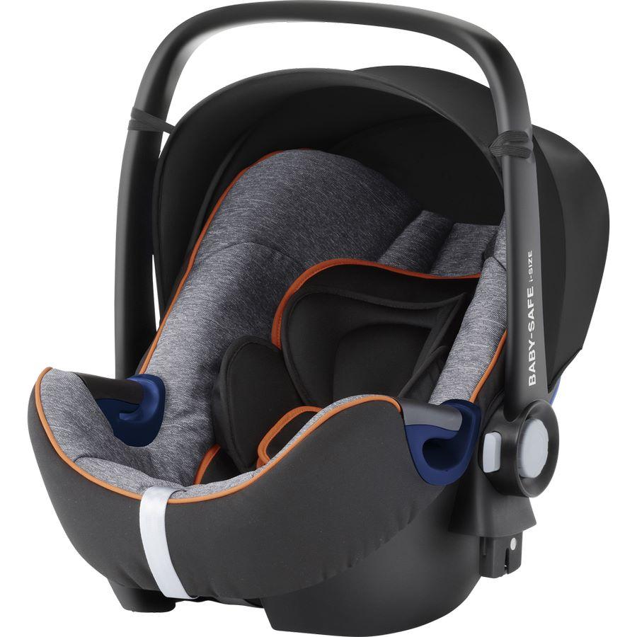 Britax Römer Baby-Safe2 i-Size Babyschale black-marble