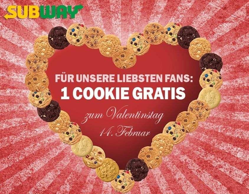 [Rostock] 1 Cookie gratis nach Wahl bei SUBWAY