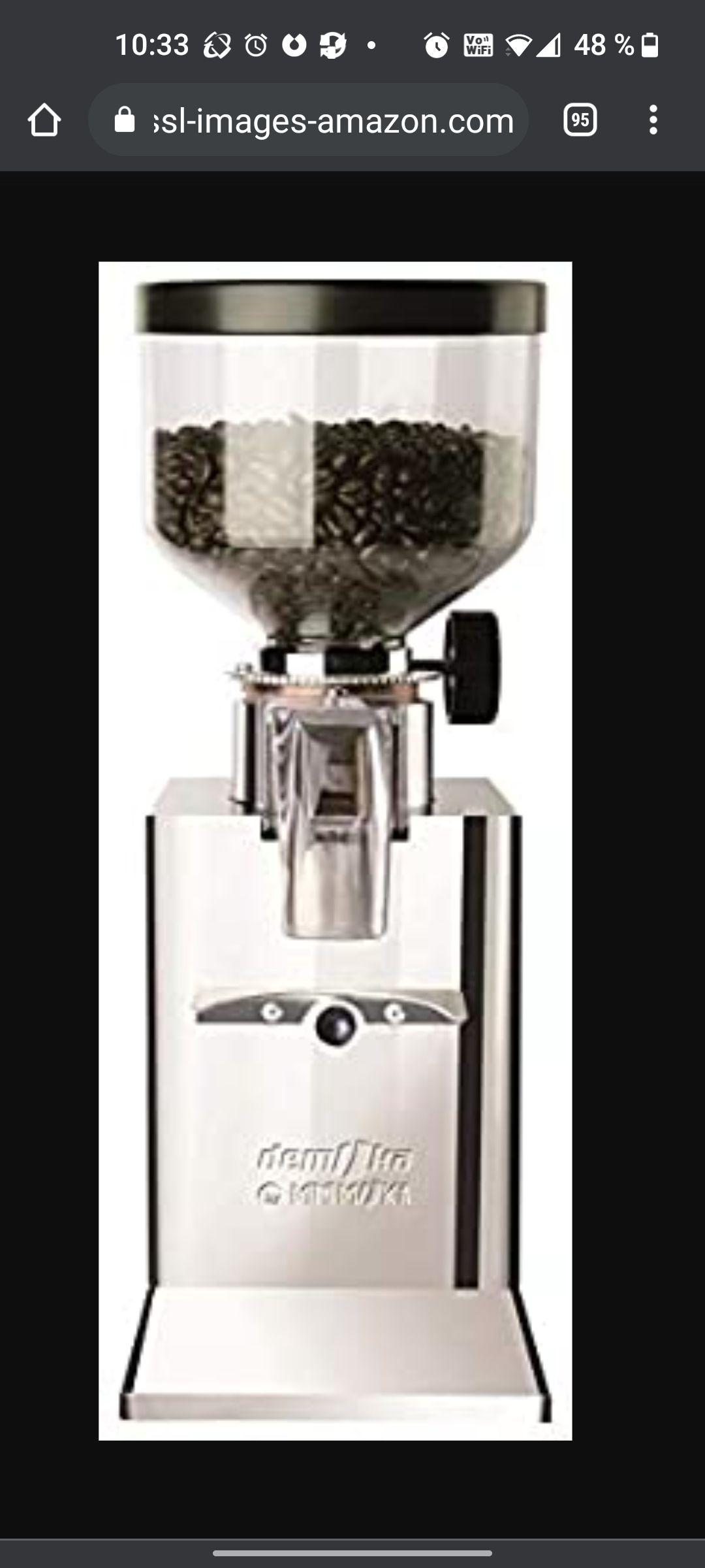 Espresso-Mühle Demoka 203 bei amazon.fr