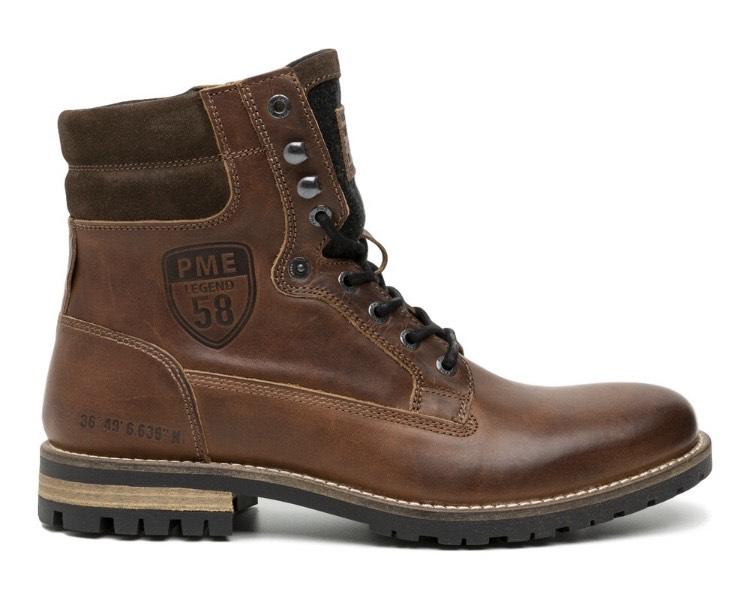 """PME Lederstiefel Boots """"Legend"""" in braun oder schwarz Größe 41-46"""