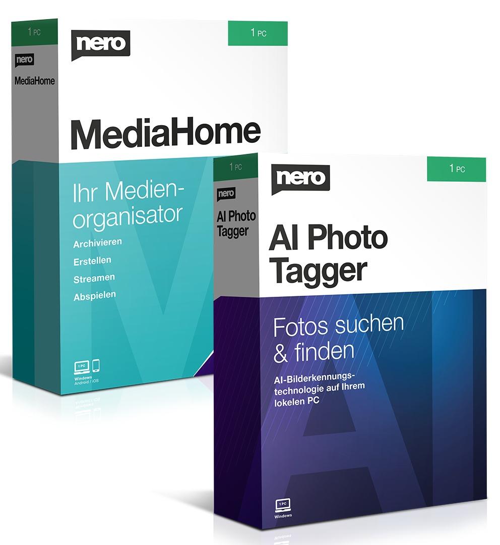 KOSTENLOSE Vollversion: Nero MediaHome & AI Photo Tagger