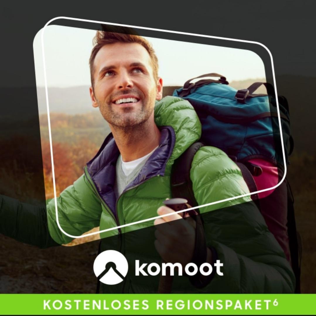 Wieder verfügbar: Kostenloses Komoot Regionenpaket über Samsung Members