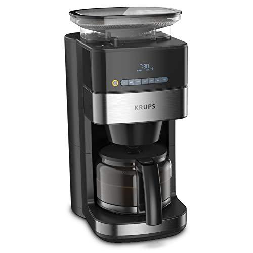 [Amazon oder Otto] Krups KM8328 Grind Aroma Filterkaffeemaschine mit Mahlwerk | 180 g Bohnenbehälter | 1,25 L Fassungsvermögen für 15 Tassen
