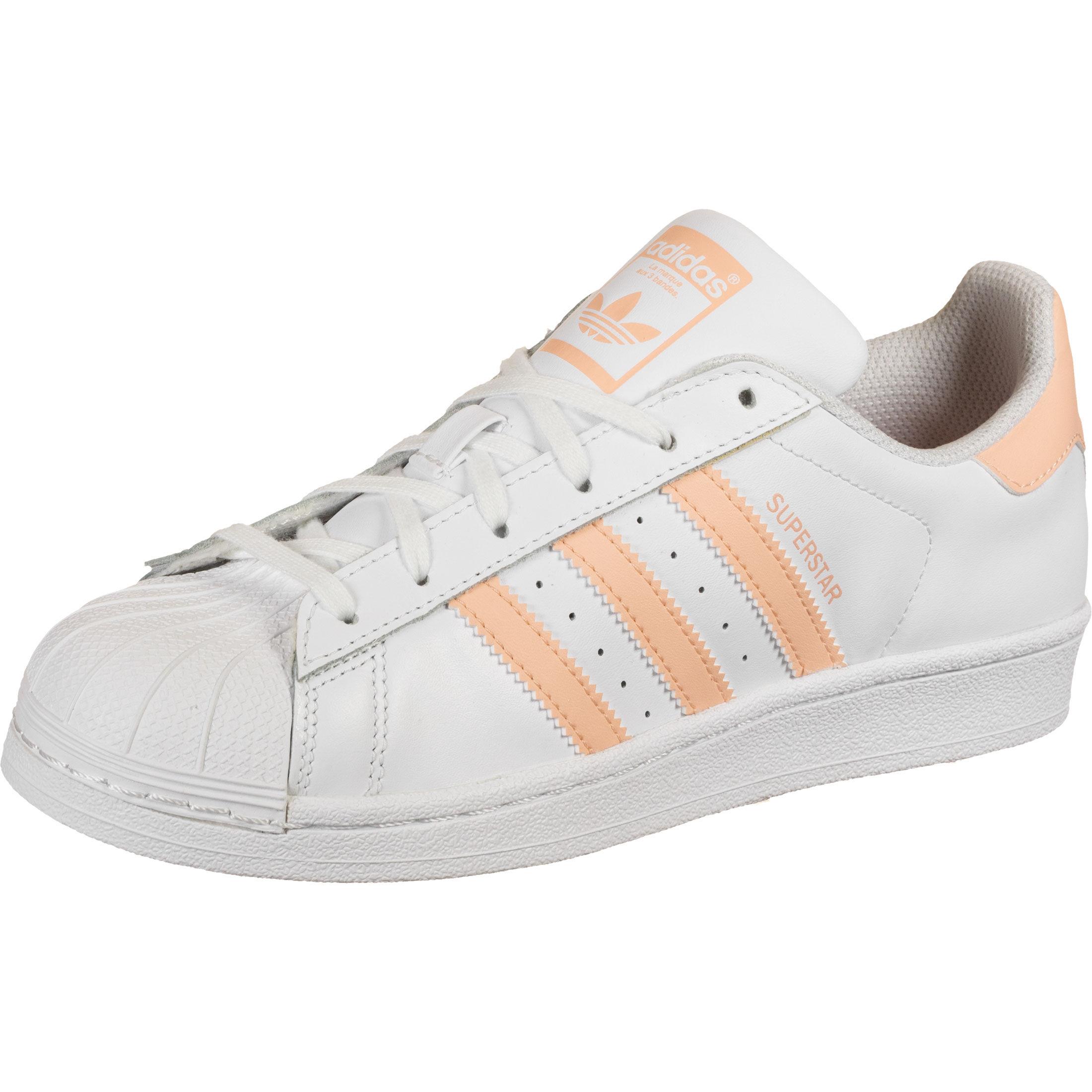 adidas Superstar J W Schuhe Weiß (Gr. 35,5-38)