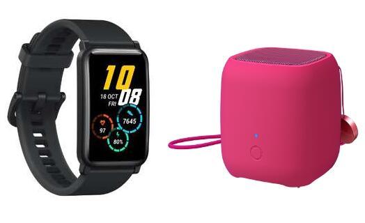 """Honor Watch ES Smartwatch + Honor Speaker (1.64"""" AMOLED, Always-On, Herzfrequenz- & SpO2-Messung, ca. 10 Tage Akku) für 49,90€ (Honor Store)"""