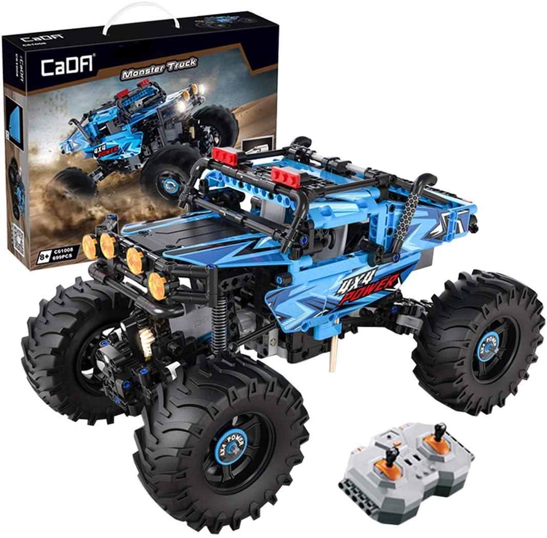 [AliExpress] CaDA Monstertruck C61008W - 699 Teile Klemmbausteine (mit Motor) für 53€