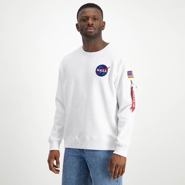 XL, XXL Alpha Industries SPACE SHUTTLE CREWNECK/Pulli/Sweater
