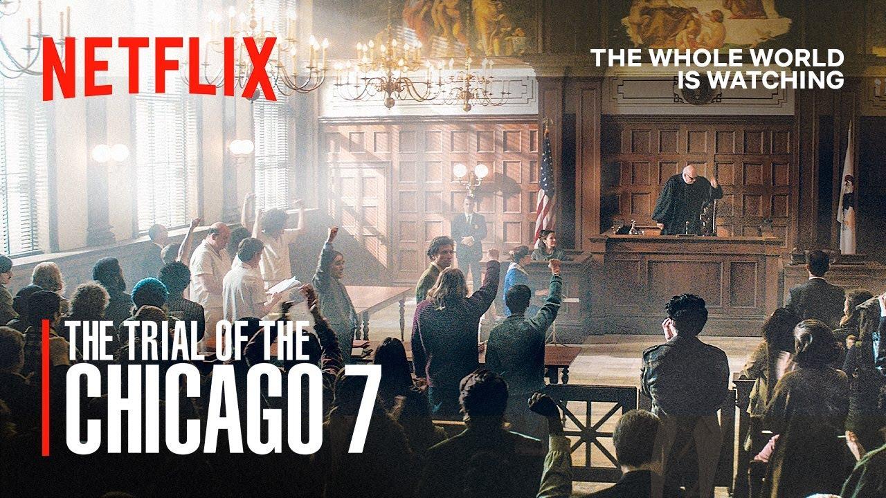 The Trial of the Chicago 7 - OmU - Netflix Film mit Borat Darsteller für 48 Std. Gratis auf Youtube / 7.8 imdb