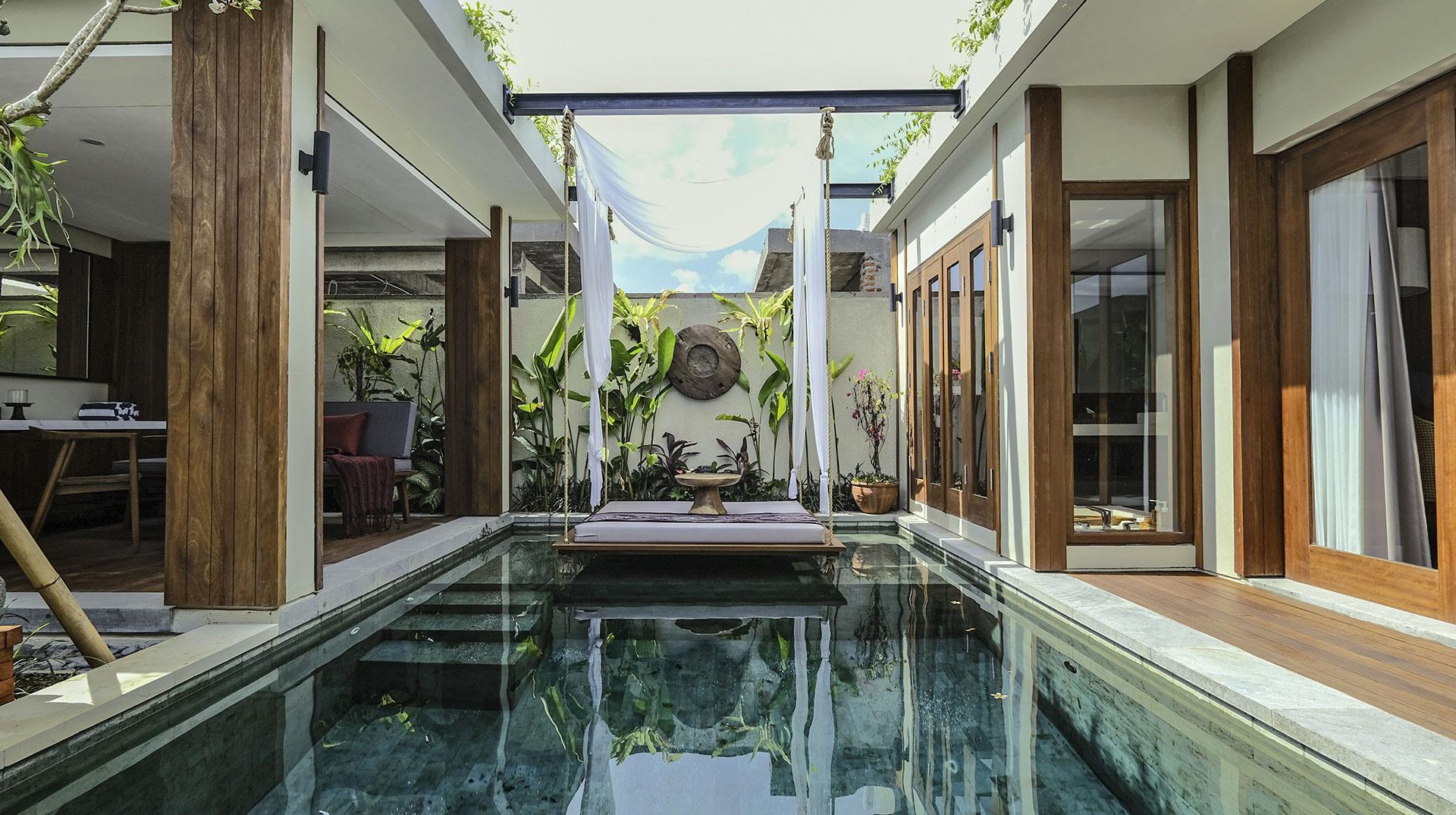 Bali: 7 Nächte - 5* Sampatti Villas by Devani - Poolvilla inkl. Frühstück / gratis Storno / Zahlung 3 Tage vor Anreise / ganzjährig