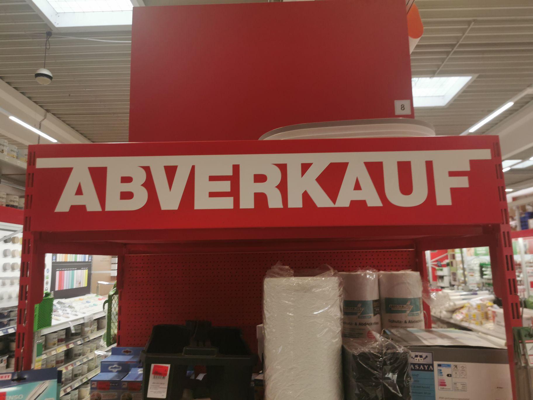Hagebau *Lokal* Hamburg Winterhude Abverkauf