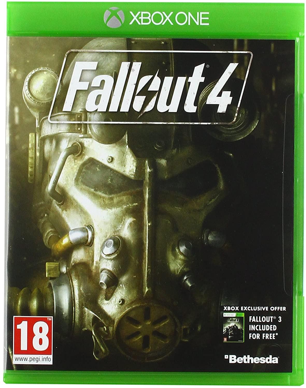 Fallout 4 (Xbox One, PEGI, Metascore 88)
