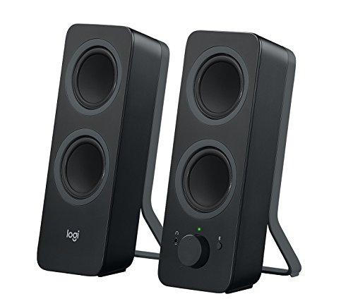 [Amazon.fr] Logitech Z207 Kabellose PC-Lautsprecher, Bluetooth, Stereo Sound, 10 Watt Spitzenleistung, 3,5 mm Eingang, Kopfhörerbuchse