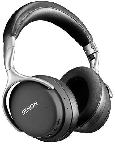 Denon AH-GC30 Wireless Over-Ear Kopfhörer mit Noise Cancelling (ANC), Bluetooth, Hi-Res, Mikrofon, 20 Std. Akkulaufzeit, schwarz