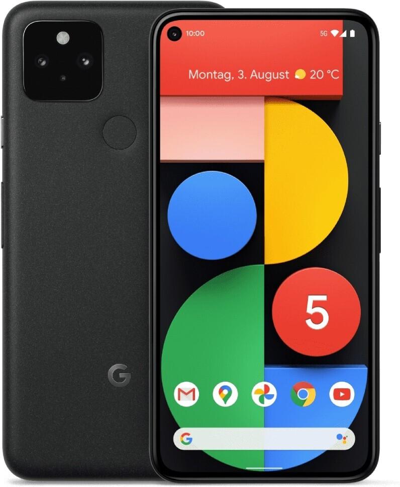 Google Pixel 5 (128GB) mit Otelo Allnet Flat Max (40GB / 44GB LTE) für 53,99€ ZZ + mtl. 29,99€ [Vodafone-Netz]