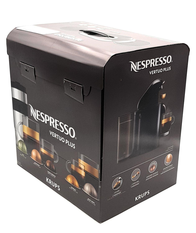 Krups Nespresso Vertuo Plus XN900T Kaffeemaschine Kapselmaschine 1,7l Wassertank (ohne Kaffee-Kapslen)