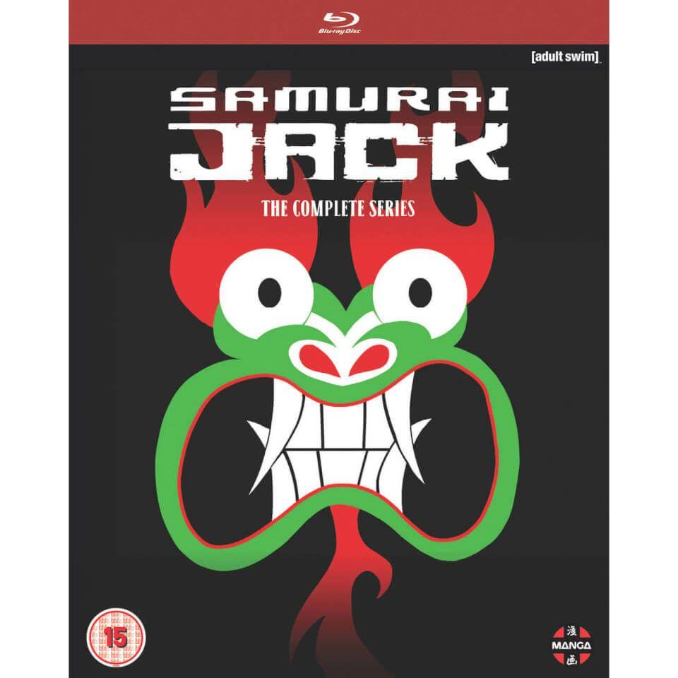 Samurai Jack Complete Series als Blu Ray bei Zavvi