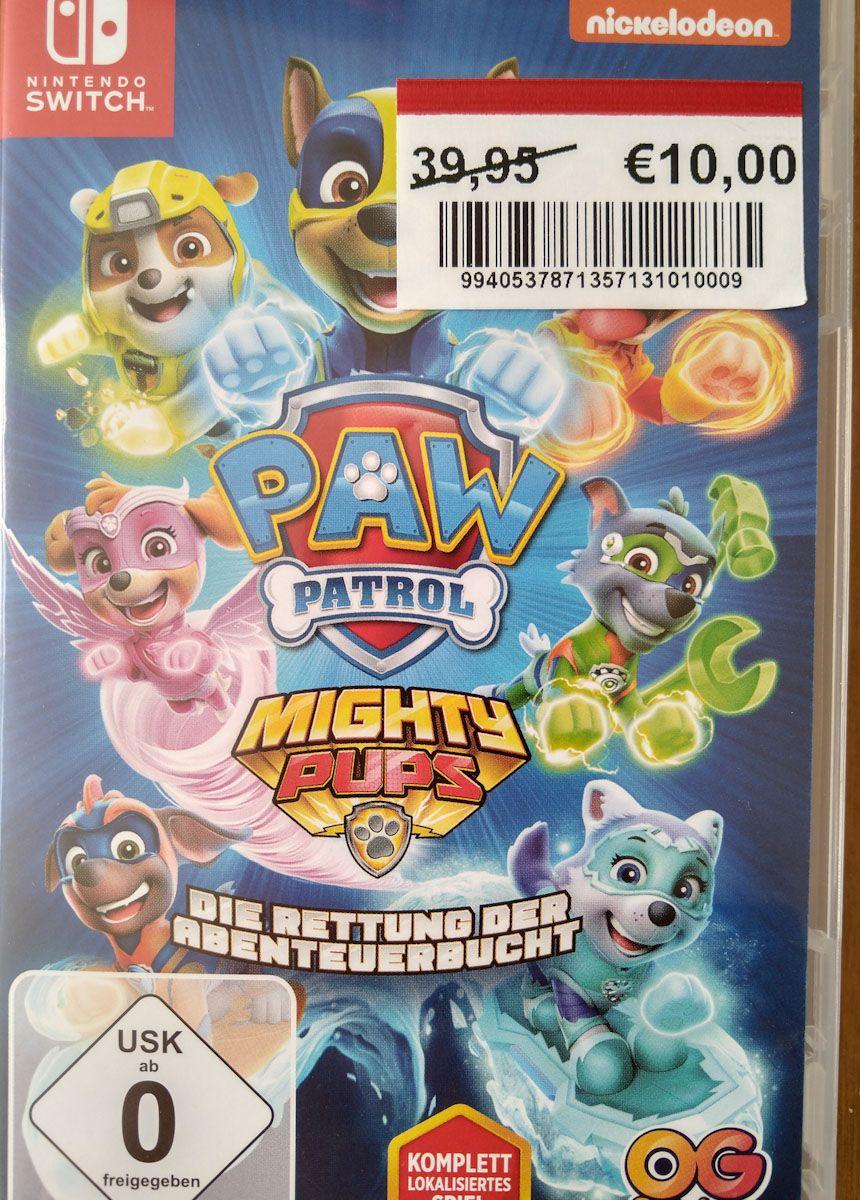 [Lokal Bocholt] PAW Patrol: Mighty Pups - Die Rettung der Abenteuerbucht (Switch)