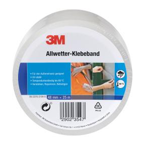 [ Aldi Nord & Süd ab 01.03. ] 3M Allwetter-Klebeband ( B × L: ca. 48 mm × 25 m )