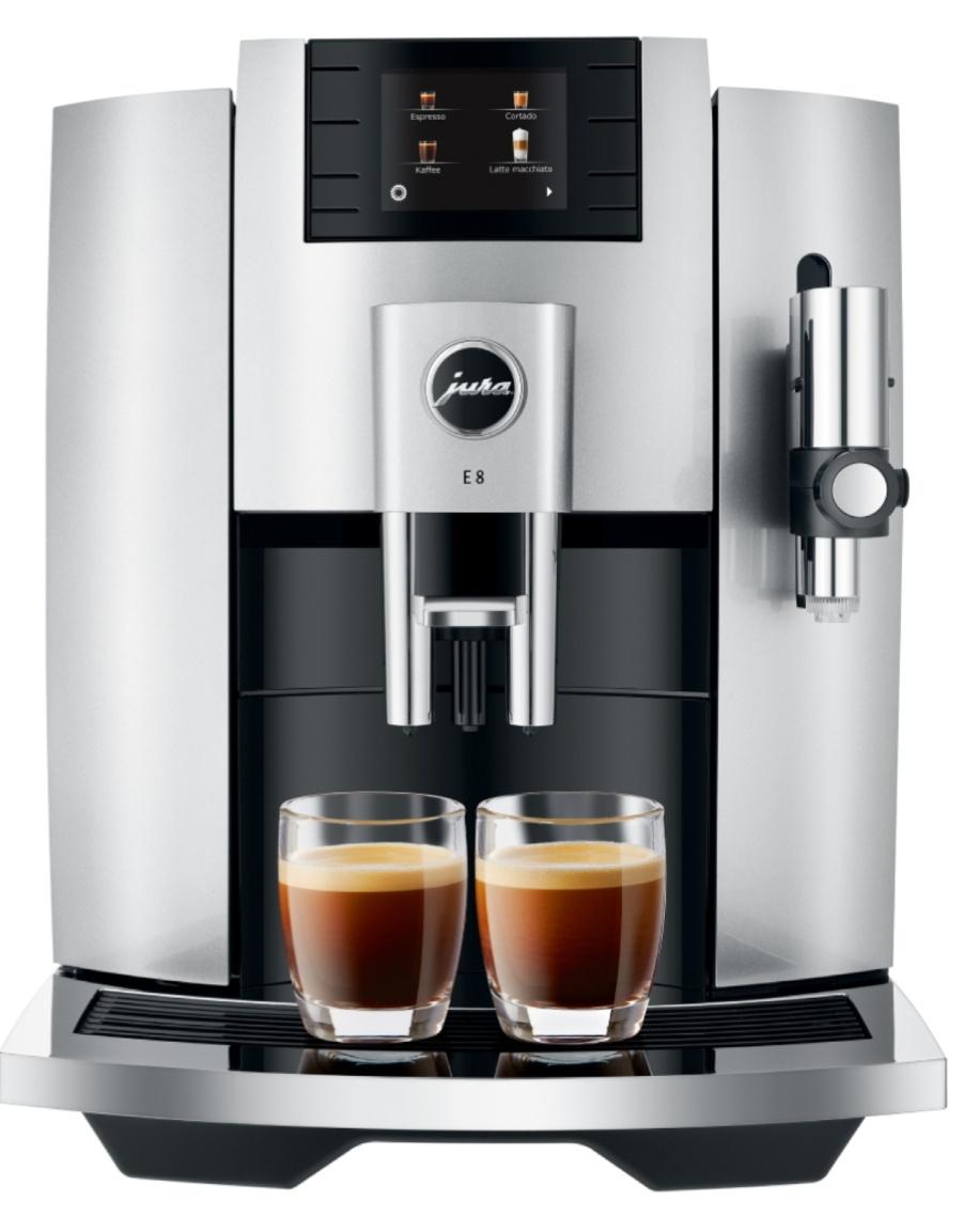 Jura E8 Kaffeevollautomat - moonlight silver, Modelljahr 2020, 849 €, kostenloser Versand [Expert]