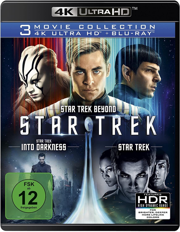 [Amazon Prime] Star Trek - 3-Movie Collection (4K Ultra HD) (3 Blu-ray 4K) (+ 3 Blu-ray 2D)