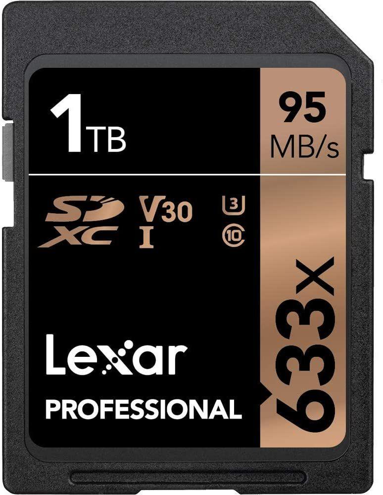 1TB Lexar Professional 633x SD UHS-I V30 U3 95MB/s Karten @ Amazon