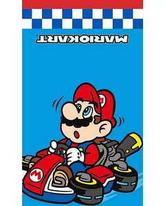 Netto Scottie : super Mario 140cm× 70cm Handtuch, 100% Baumwolle in versch. Motiven auch Ninjago... sowie Bettwäsche für 18.99€