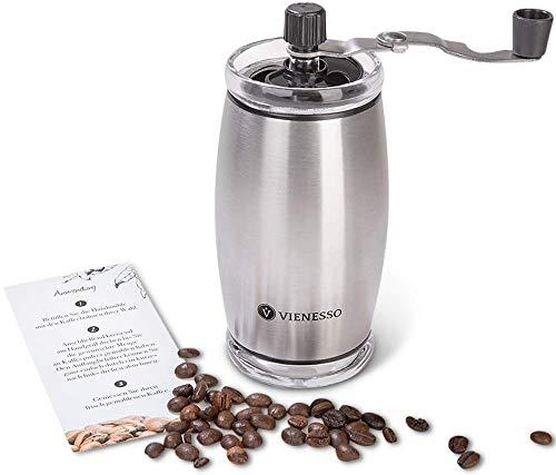 VIENESSO Hand-Kaffeemühle mit Keramikmahlwerk *Amazon Prime*