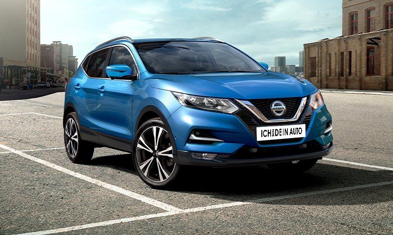 Auto Abo / Leasing Alternative (Sportvereinmitgliedschaft notwendig) - Nissan Qashqai Automatik - 349€ p.M./ 20k KM p.a./ 12 M inkl Versich.