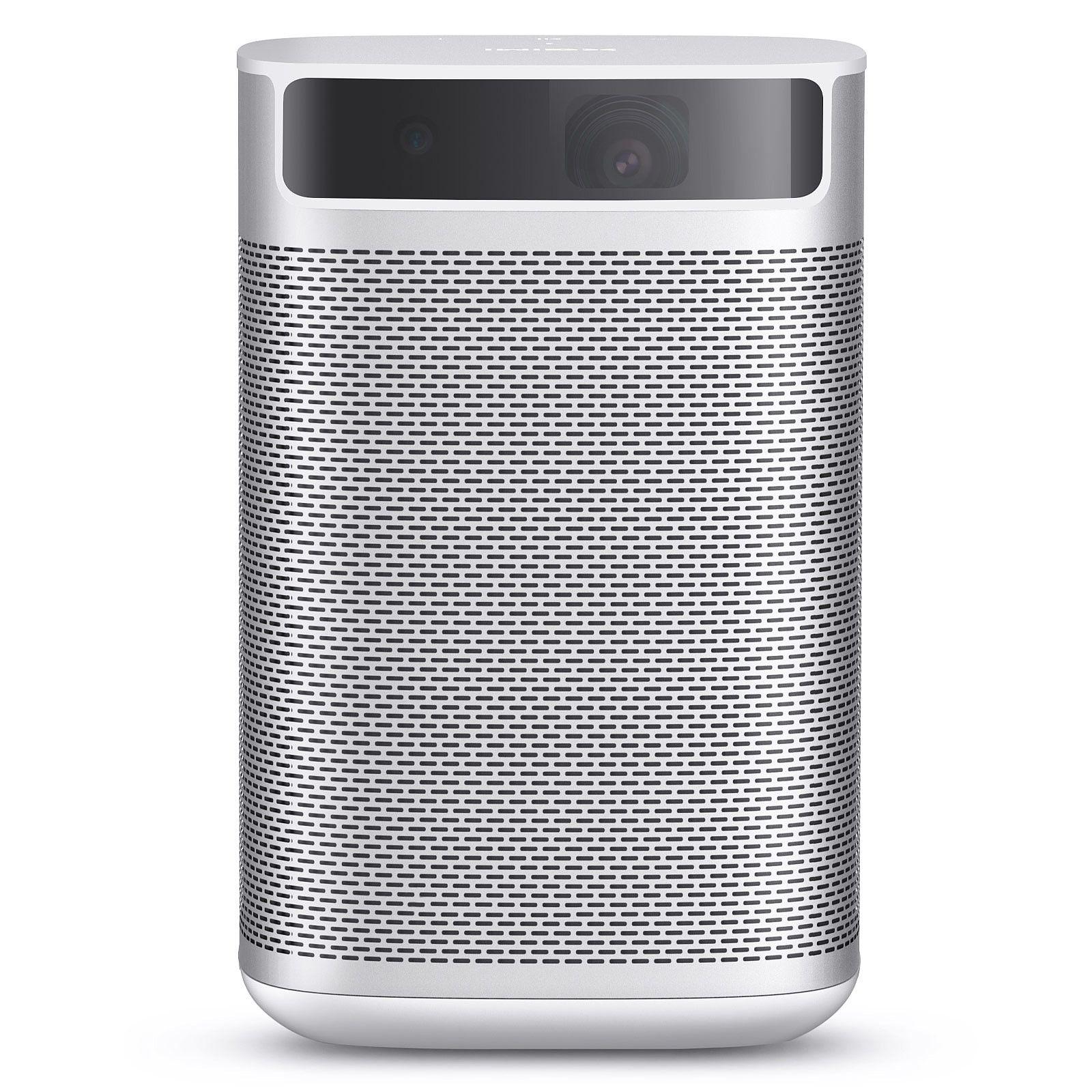 XGIMI Mogo Pro: Tragbarer Mini-Beamer (1080P Nativ Auflösung, 300ANSI Lumen, Harman/Kardon Lautsprecher, Android TV, 4h Akku)