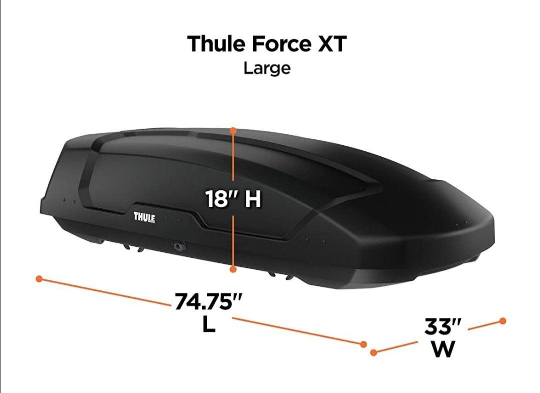 Thule Dachbox Force XT L Black Aeroskin