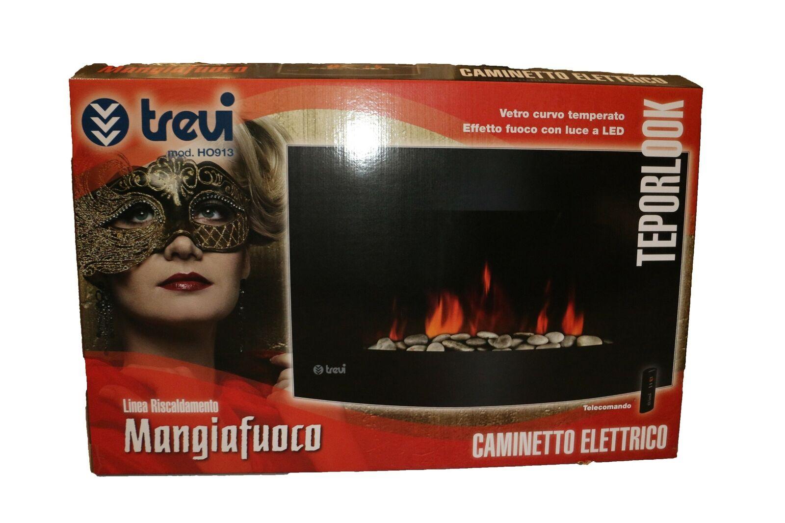 [dealclub] Kamin Trevidea HO 913 Mangiafuoco   elektrischer Wandkamin