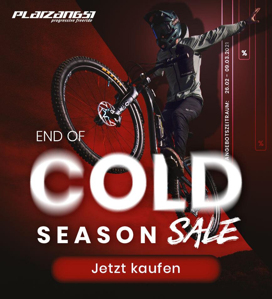 Platzangst End of Season Sale auf MTB & Gravel Bekleidung zB Platzangst Cell Jacket für 49,90€ statt 149,90€ + 3,90€ VSK