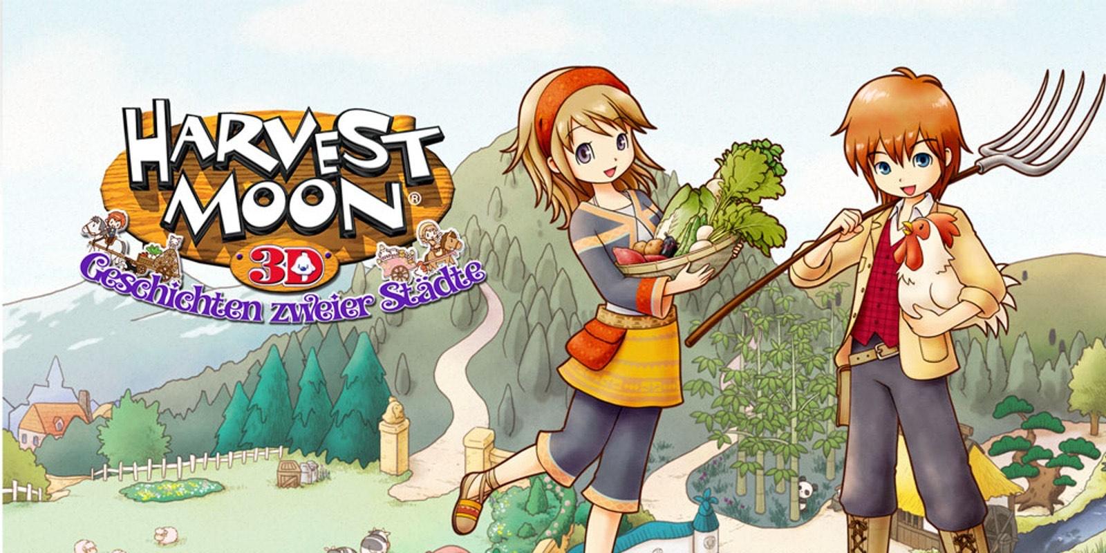 3DS Eshop Angebote zB Harvest Moon