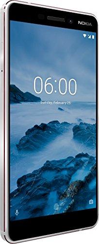[ Amazon / Prime ] Nokia 6.1 / weiß / 13,97 cm / FHD IPS Display, 32 GB interner Speicher und 3 GB RAM, Dual-SIM, Android 10 (Januar Patch)
