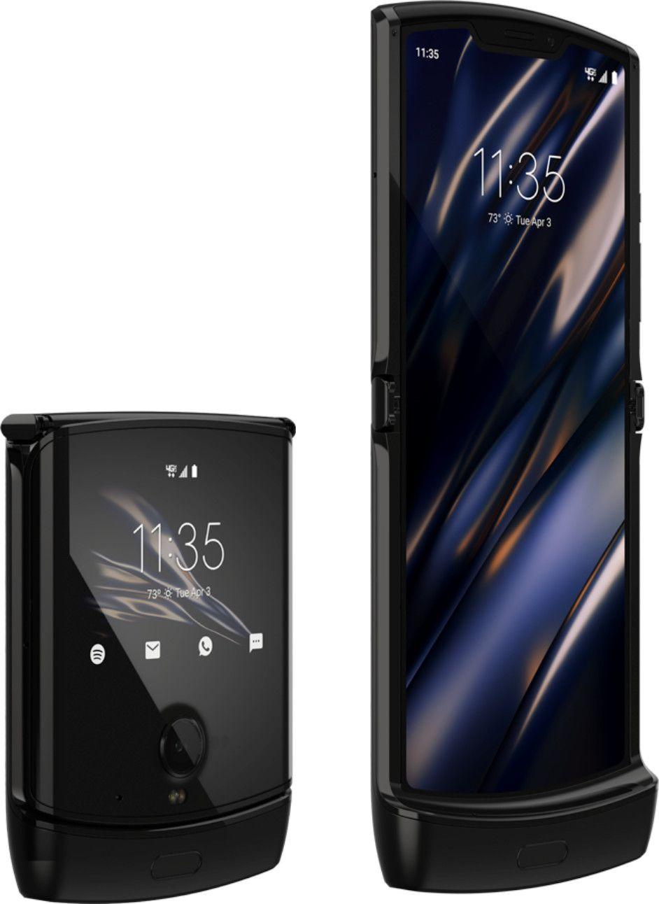 "Motorola Razr 2019 6,2"" FHD OLED Klapphandy mit Außendisplay 6/128GB (Snapdragon 710, 201K AnTuTu, 16 MP Kamera, USB-C, NFC)"