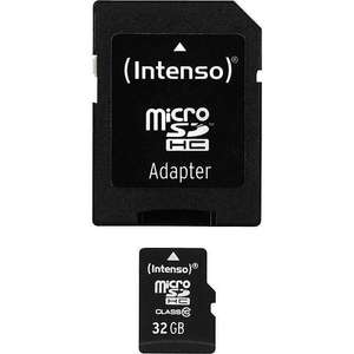 Intenso Micro SDHC 32GB Class 10 Speicherkarte inkl. SD Adapter