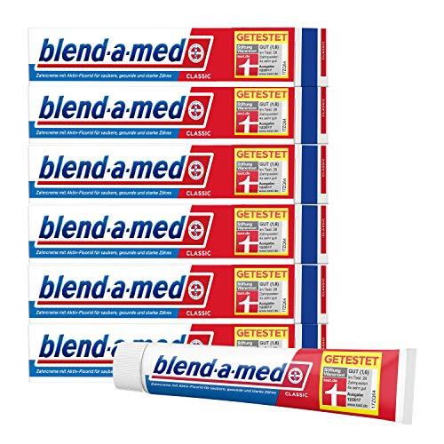Blend-a-med Classic Zahncreme 6 x 75ml (0,56€ pro Tube) [Prime]