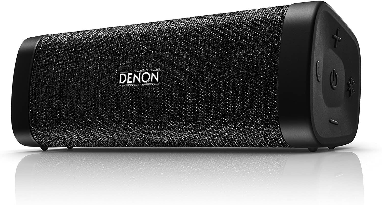 Denon Envaya Mini Bluetooth Lautsprecher (NFC, aptX, 11h Akku, IP67-klassifiziert, Freisprechfunktion) schwarz