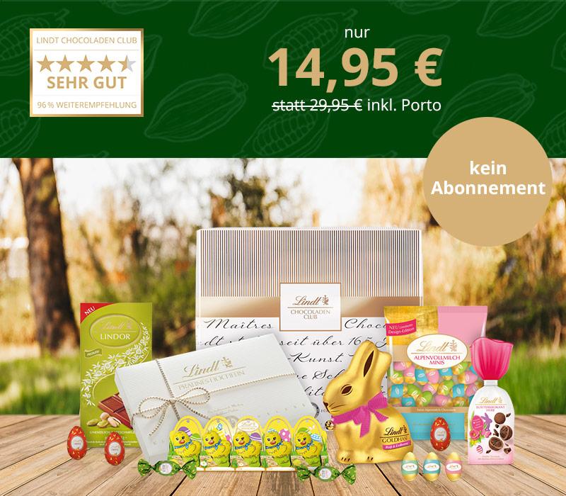[Vattenfall my Highlights App] 15€ Gutschein für Lindt Chocoladen Club Kollektion