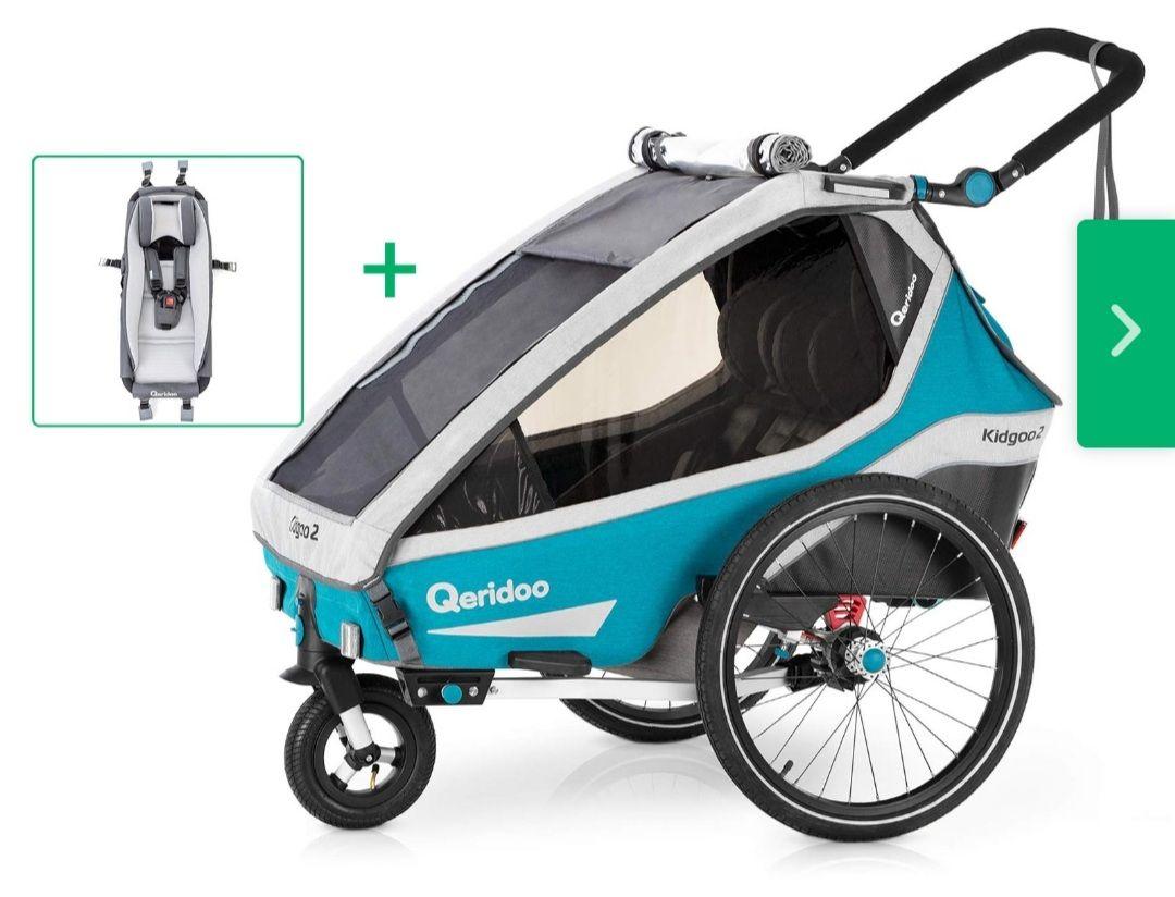 Qeridoo Kidgoo 2 Babyset - 2020er Modell petrol
